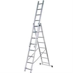 Лестница алюминиевая трёхсекционная Вихрь ЛА 3х7 - фото 4734