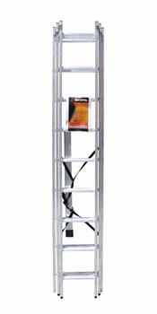 Лестница алюминиевая трёхсекционная Вихрь ЛА 3х9 - фото 4736