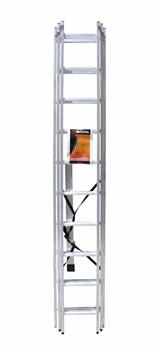 Лестница алюминиевая трёхсекционная Вихрь ЛА 3х10 - фото 4737