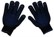 Перчатки ХБ - 4/10 ПВХ Черные
